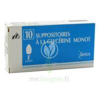 SUPPOSITOIRES A LA GLYCERINE MONOT ENFANTS à Mantes-La-Jolie