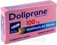 DOLIPRANE 100 mg Suppositoires sécables 2Plq/5 (10) à Mantes-La-Jolie