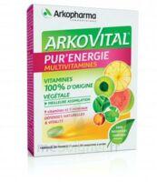 Arkovital Pur'Energie Multivitamines Comprimés dès 6 ans B/30 à Mantes-La-Jolie
