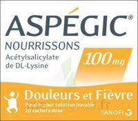 ASPEGIC NOURRISSONS 100 mg, poudre pour solution buvable en sachet-dose à Mantes-La-Jolie