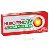 NUROFENCAPS 400 mg Caps molle Plq/10 à Mantes-La-Jolie