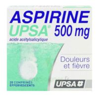 ASPIRINE UPSA 500 mg, comprimé effervescent à Mantes-La-Jolie