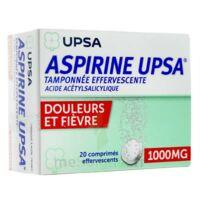 ASPIRINE UPSA TAMPONNEE EFFERVESCENTE 1000 mg, comprimé effervescent à Mantes-La-Jolie
