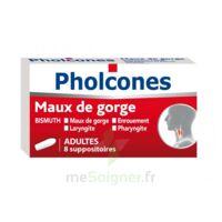 PHOLCONES BISMUTH ADULTES, suppositoire à Mantes-La-Jolie