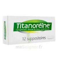 TITANOREINE Suppositoires B/12 à Mantes-La-Jolie