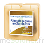 PATES DE REGLISSE AU SAMBUCUS Pâtes à sucer Sach/70g à Mantes-La-Jolie