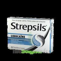 Strepsils lidocaïne Pastilles Plq/24 à Mantes-La-Jolie