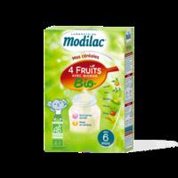 Modilac Céréales Farine 4 Fruits quinoa bio à partir de 6 mois B/230g à Mantes-La-Jolie